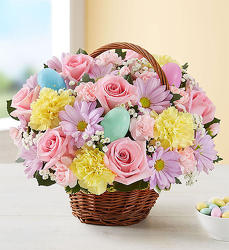 Egg-citing Easter Basket from Wyoming Florist in Cincinnati, OH
