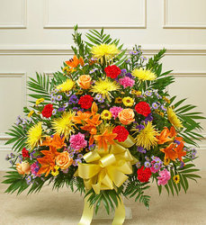 Bright Seasonal Traditional Arrangement from Wyoming Florist in Cincinnati, OH