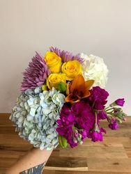 Seasonal Wrapped Bouquet-Designer's Choice from Wyoming Florist in Cincinnati, OH