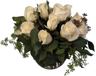 Elegant White Roses from Wyoming Florist in Cincinnati, OH